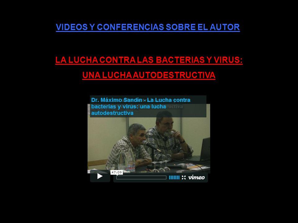VIDEOS Y CONFERENCIAS SOBRE EL AUTOR DESMONTANDO A DARWIN
