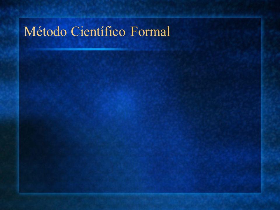 Método Científico Formal