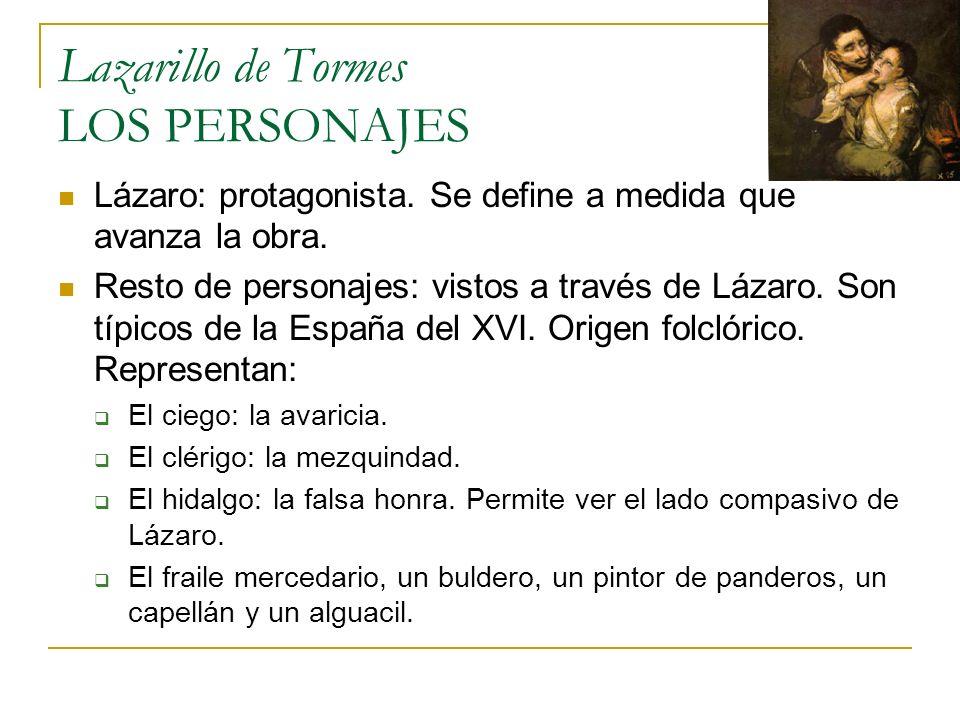 Lazarillo de Tormes ESTRUCTURA Autobiografía: estructura la novela.