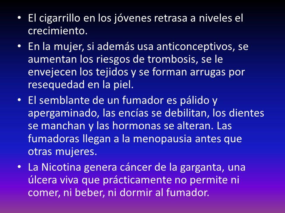 Pulmón de fumador.