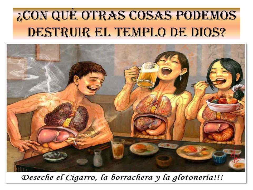 No vamos a encontrar en la Biblia ni un pasaje que diga no fumaras.