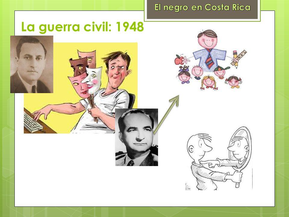 La guerra civil: 1948