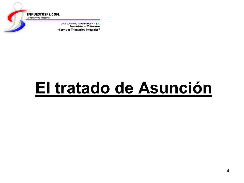 4 El tratado de Asunción