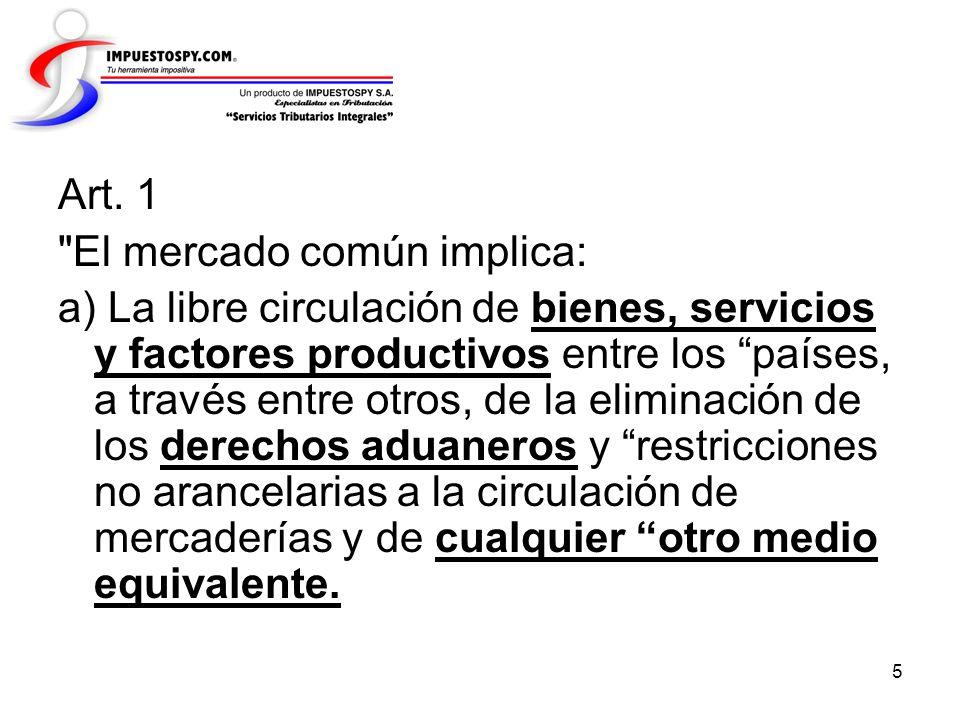 76 Que la estructura de los sistemas tributarios de los países integrantes del MERCOSUR son similares y basados en impuestos al consumo, seguido de contribuciones sobre salarios y finalmente aparece la imposición directa.