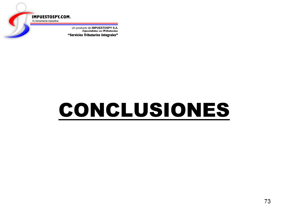 73 CONCLUSIONES