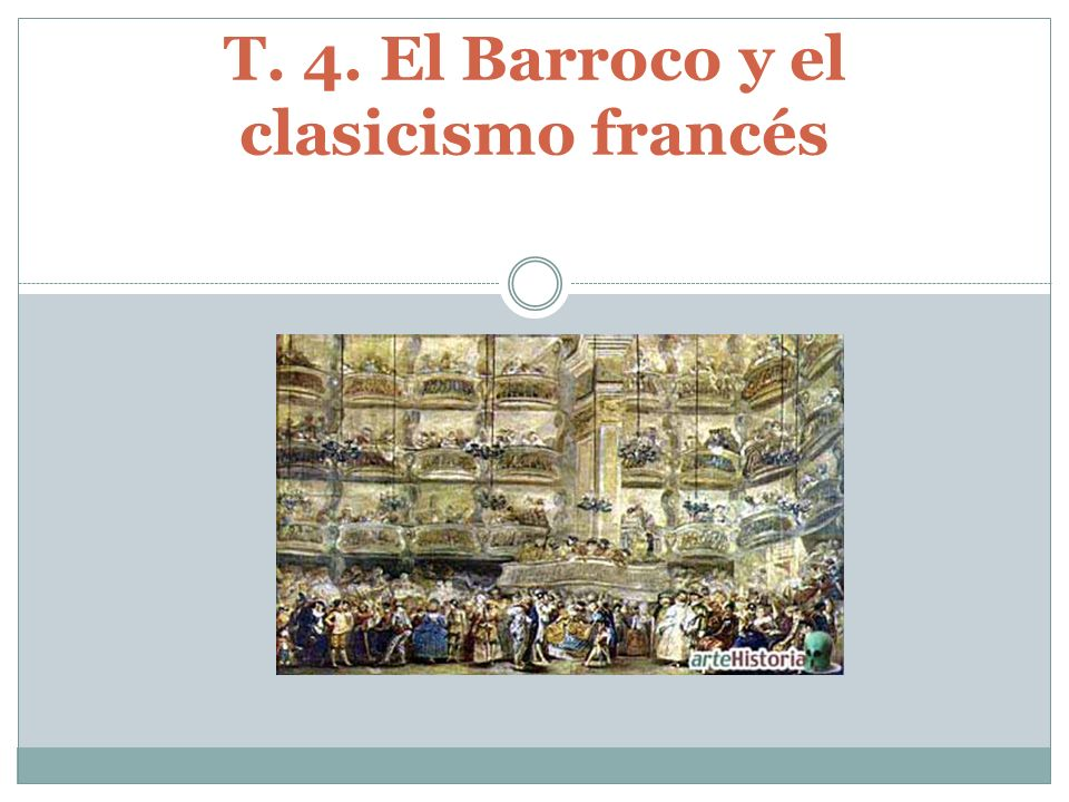 índice 1.El concepto del Barroco en la Literatura.