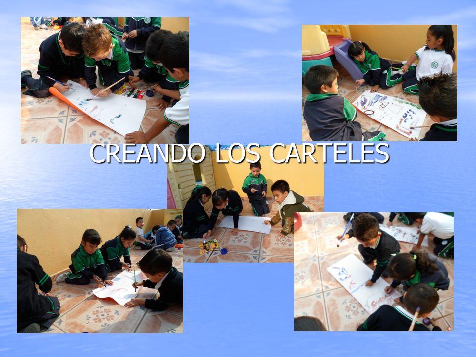 CREANDO LOS CARTELES