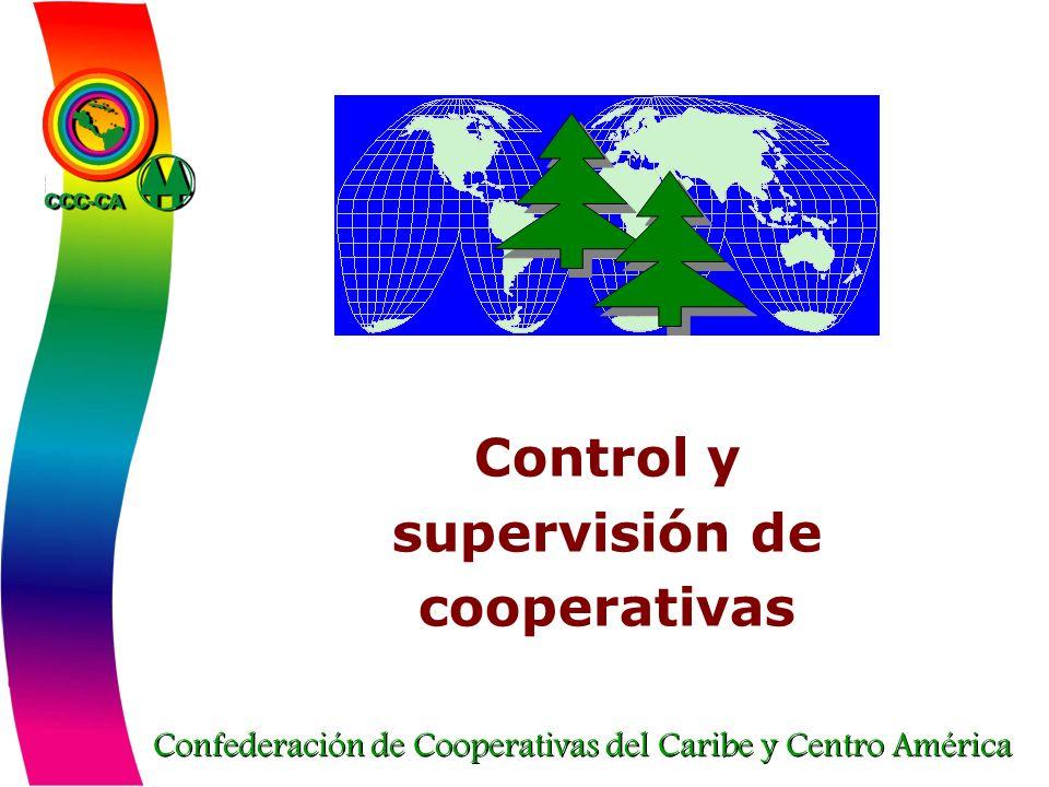 Confederación de Cooperativas del Caribe y Centro América Control y supervisión de cooperativas