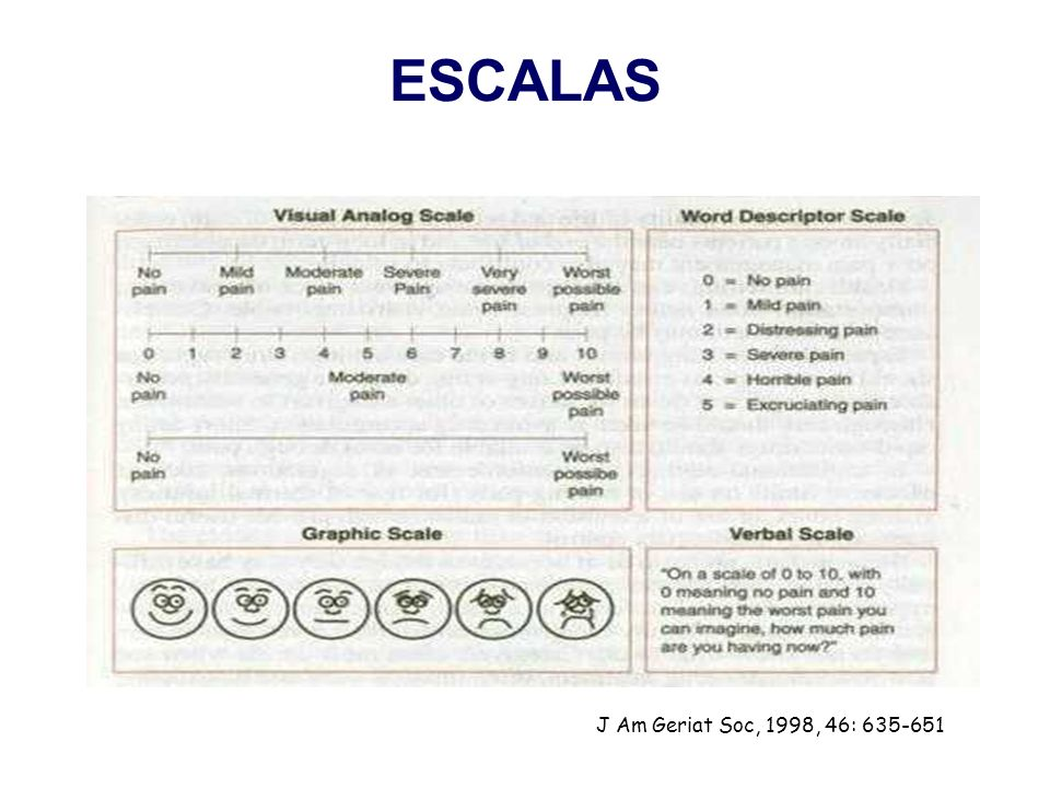ESCALAS J Am Geriat Soc, 1998, 46: 635-651