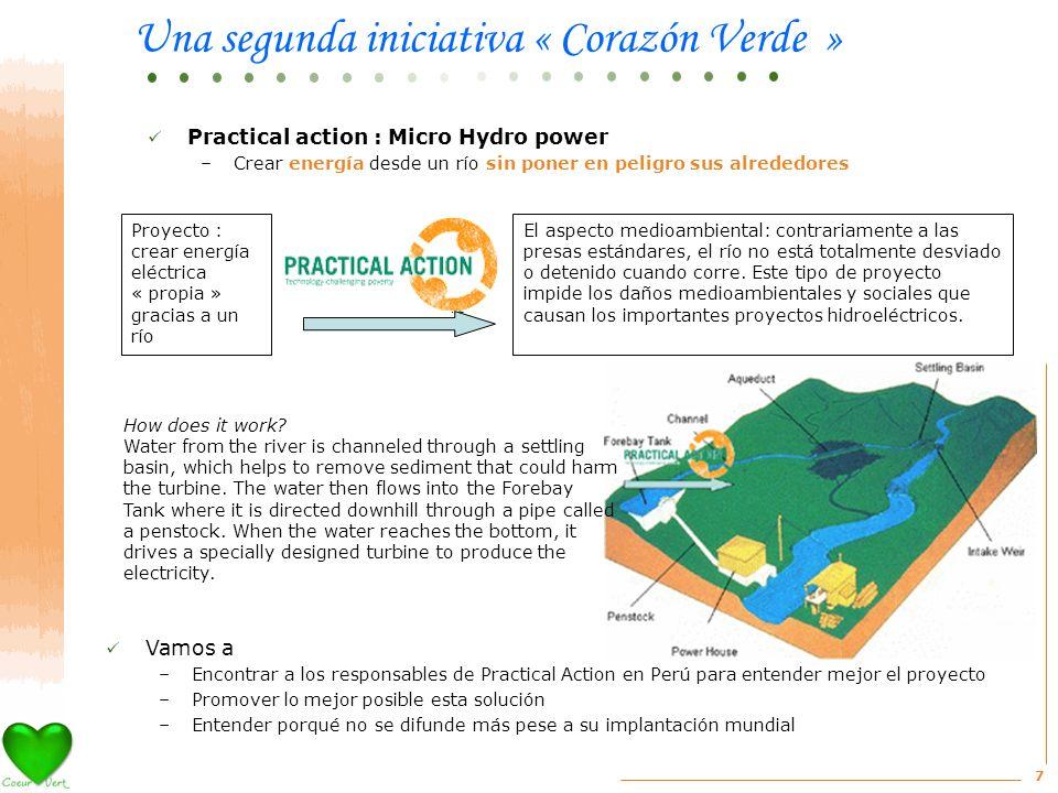 7 El aspecto medioambiental: contrariamente a las presas estándares, el río no está totalmente desviado o detenido cuando corre.
