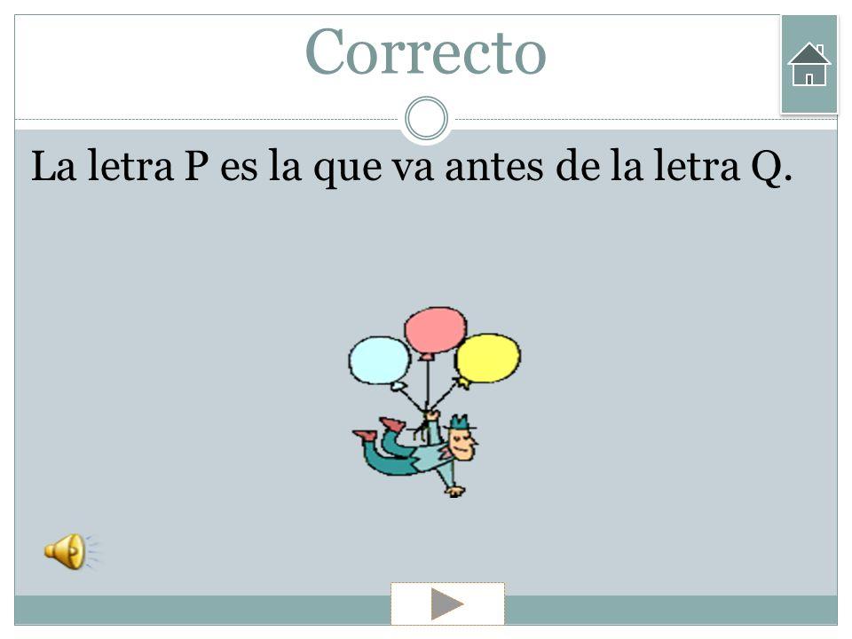 Ejercicios 7) ¿Qué va antes de la Q? A) Letra P Letra P B) Letra W Letra W C) Letra Ll Letra Ll D) Letra M Letra M