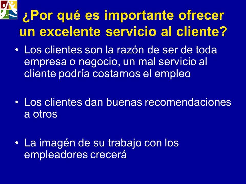 ¿Por qué es importante ofrecer un excelente servicio al cliente? Los clientes son la razón de ser de toda empresa o negocio, un mal servicio al client