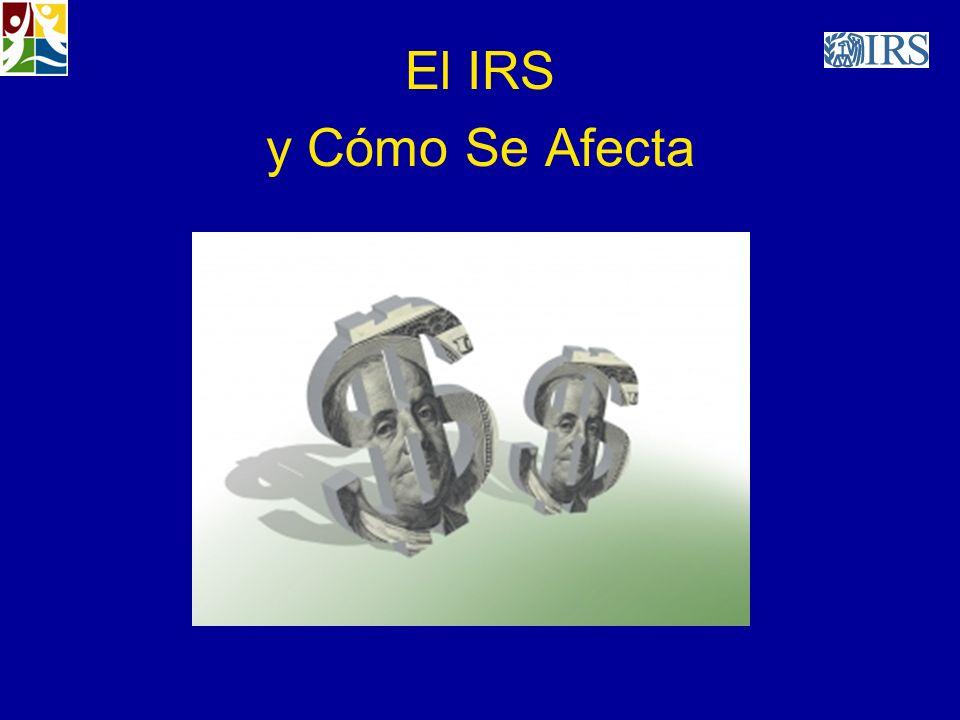El IRS y Cómo Se Afecta