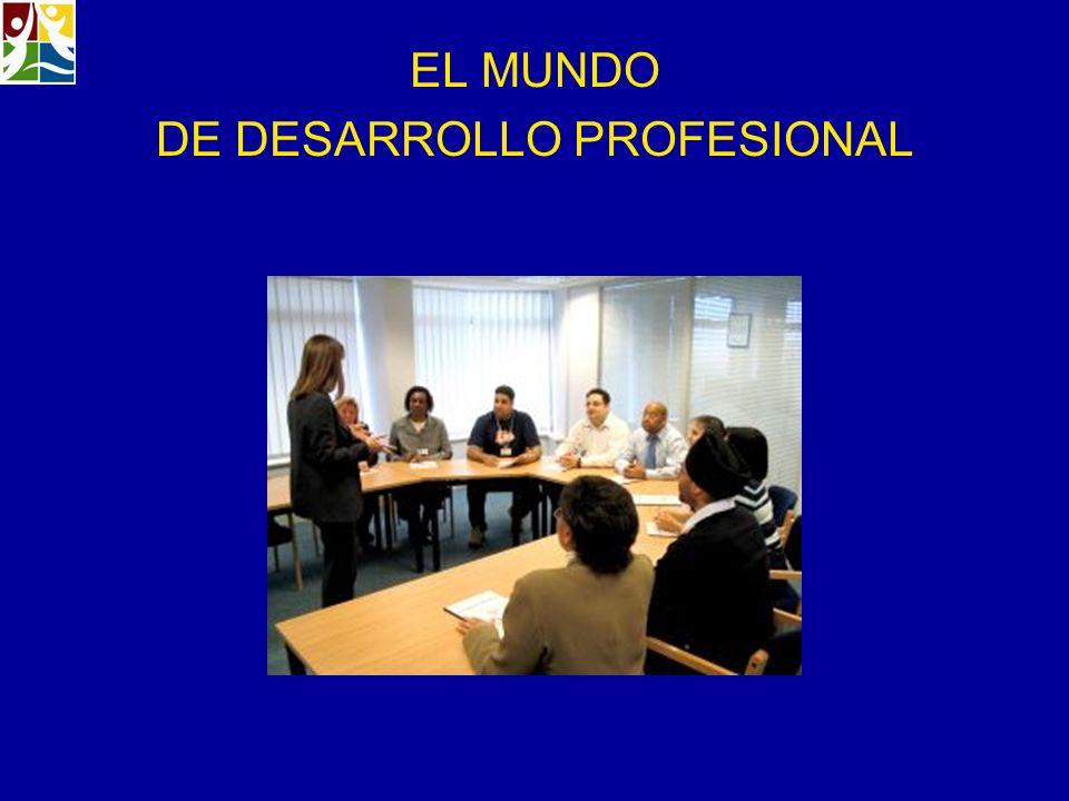 EL MUNDO DE DESARROLLO PROFESIONAL