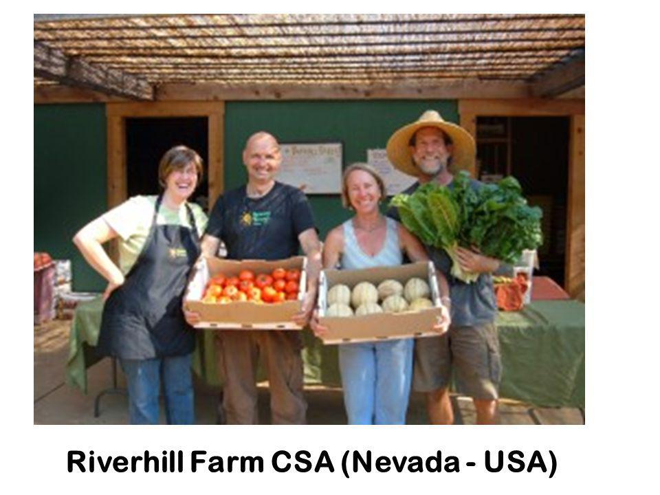 Riverhill Farm CSA (Nevada - USA)