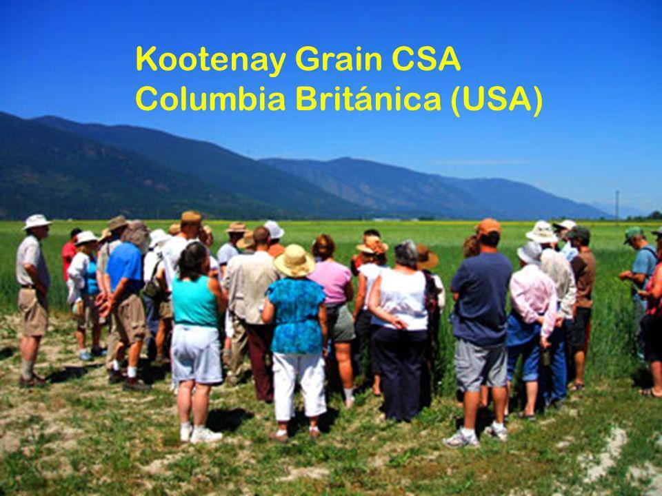Kootenay Grain CSA Columbia Británica (USA)