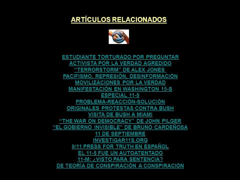 ARTÍCULOS RELACIONADOS VERDADES INCÓMODAS #4 VERDADES INCÓMODAS #3 VERDADES INCÓMODAS #2 VERDADES INCÓMODAS #1 FIN DEL LETARGO - COMPILACIÓN DVD #2 EL