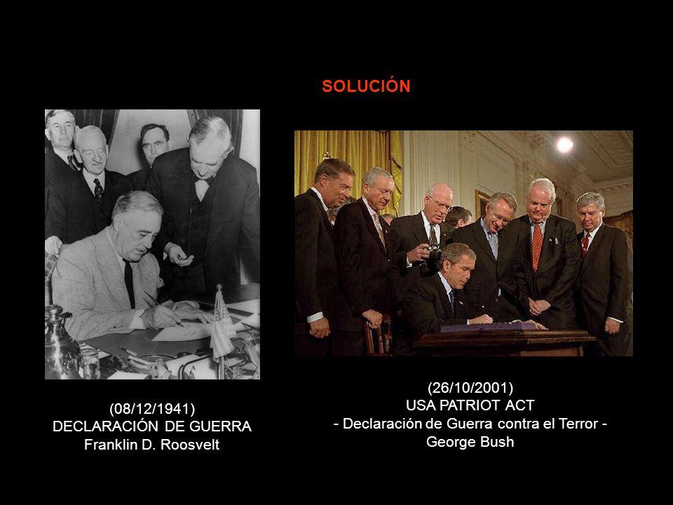 - 1941 - - 2001 - REACCIÓN