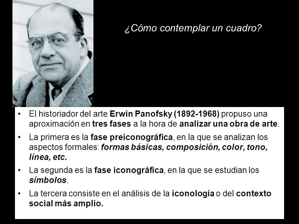 ¿Cómo contemplar un cuadro? El historiador del arte Erwin Panofsky (1892-1968) propuso una aproximación en tres fases a la hora de analizar una obra d