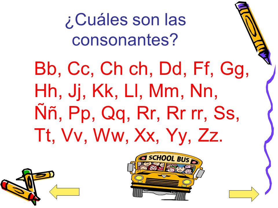 ¿Qué contiene el abecedario? El abecedario contiene 24 consonantes y 5 vocales.