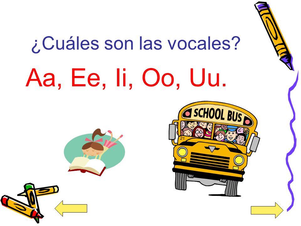¿Cuáles son las consonantes? Bb, Cc, Ch ch, Dd, Ff, Gg, Hh, Jj, Kk, Ll, Mm, Nn, Ññ, Pp, Qq, Rr, Rr rr, Ss, Tt, Vv, Ww, Xx, Yy, Zz.