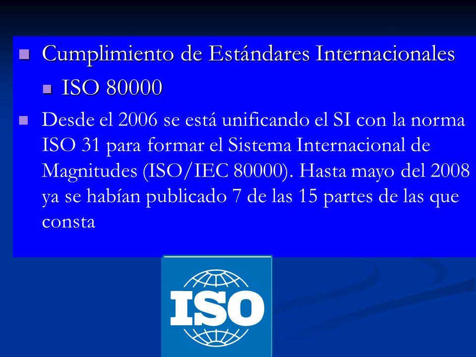 Cumplimiento de estándares internacionales ISO 9000 / ISO TS 16949 Gestión de calidad ISO 14000 – Medio ambiente ISO 18000 – Seguridad Cumplimiento de