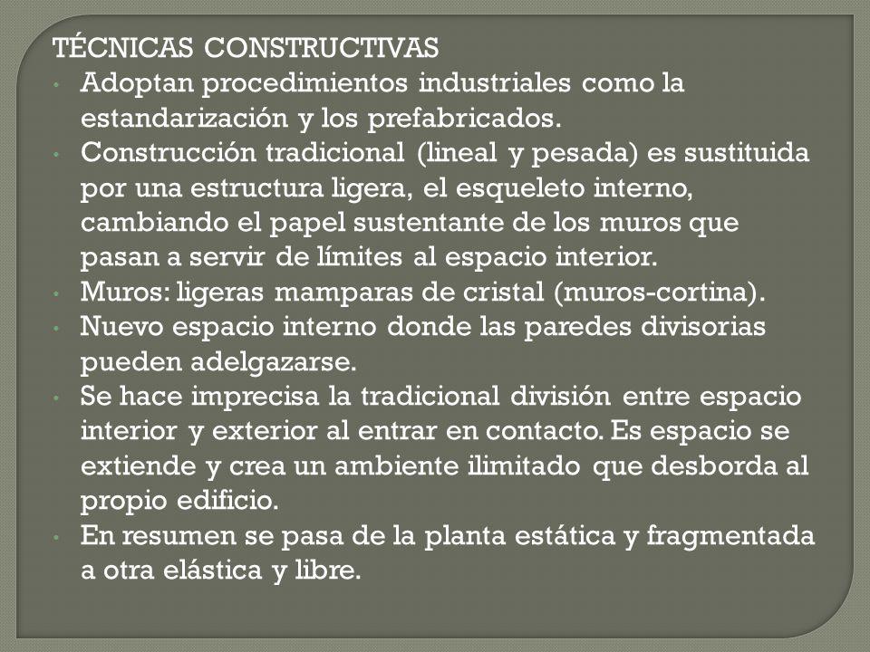 Donde se consagran todas las características de la Arquitectura de los Nuevos Materiales es en los edificios de las exposiciones universales.