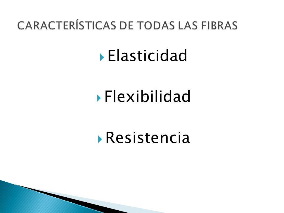 Fibras naturales Fibras naturales y sintéticas Propiedades Fisicoquímicas - Imputrescibilidad.