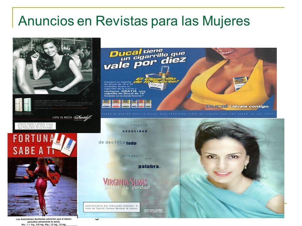 Anuncios en Revistas para las Mujeres www.trinketsandtrash.org