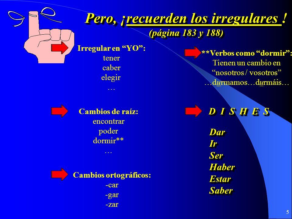 4 ¿Cómo se forma ¿Cómo se forma el presente del subjuntivo? el presente del subjuntivo? ¿Cómo se forma ¿Cómo se forma el presente del subjuntivo? el p