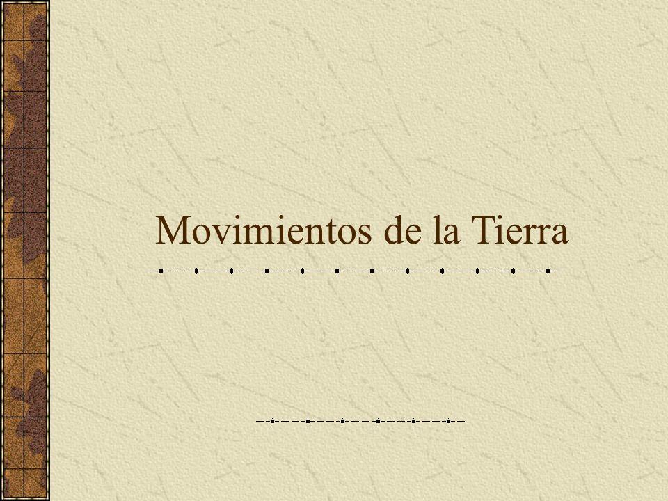 Movimientos de la Tierra