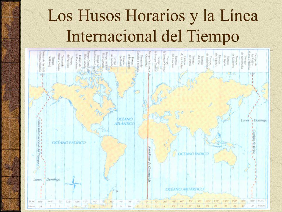 Los Husos Horarios y la Línea Internacional del Tiempo