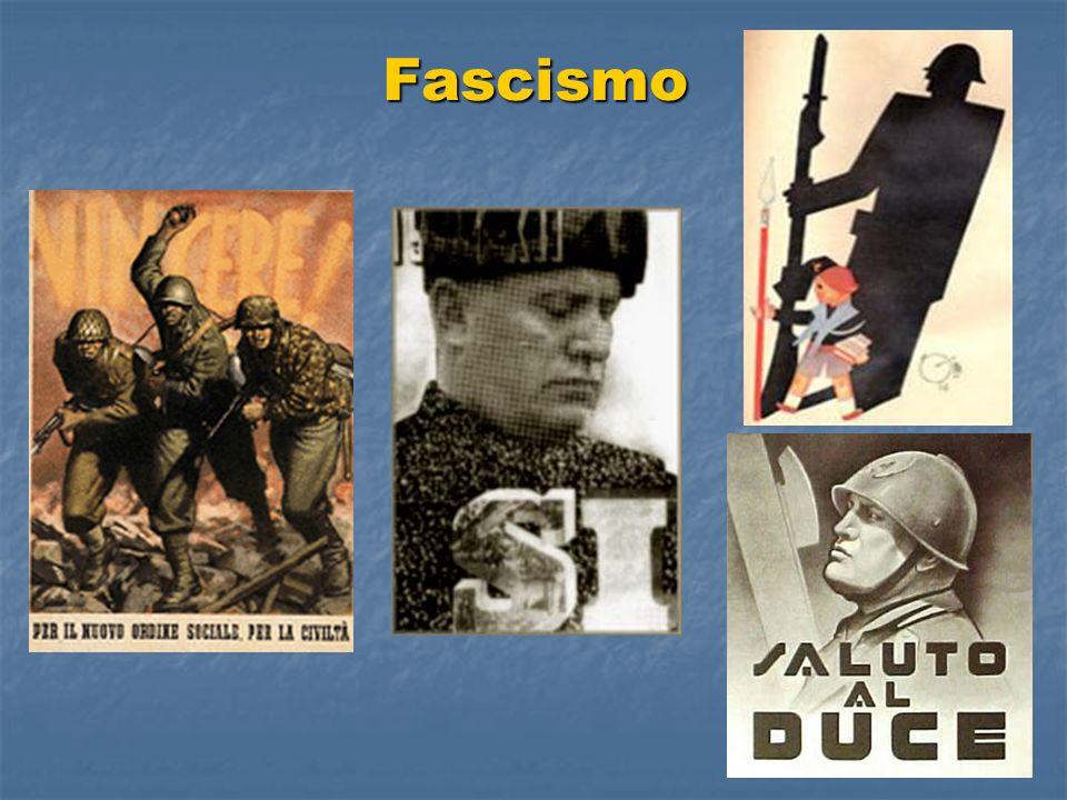 Conclusión El Fascismo surge en Italia por la situación de crisis y huelga, como una contrarrevolución preventiva para evitar la situación vivida en Rusia.