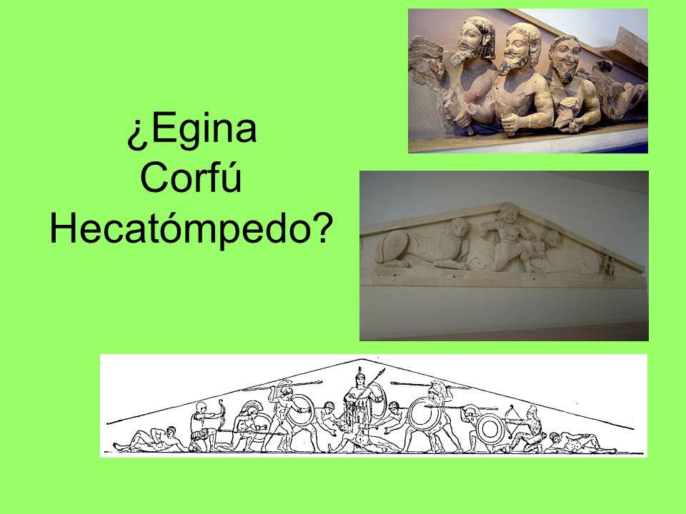 ¿Egina Corfú Hecatómpedo?