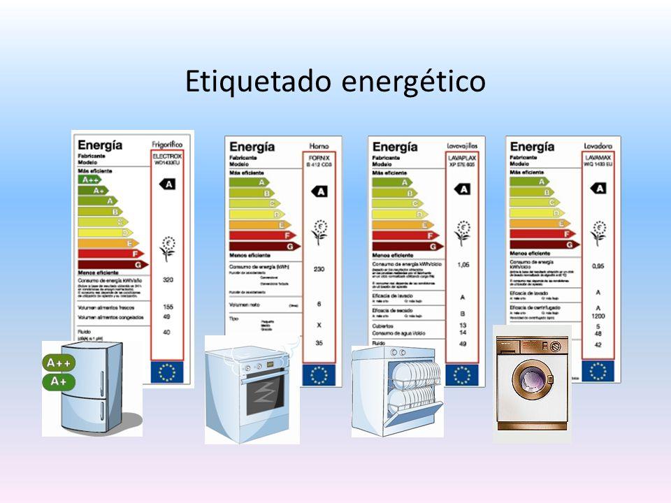 Etiquetado energético