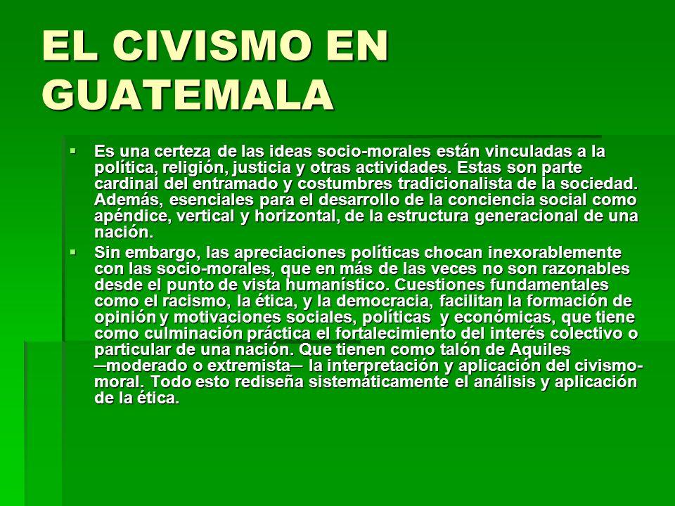 COMO FOMENTAR EL CIVISMO EN GUATEMALA Primero, necesitamos comprender que es Guatemala.