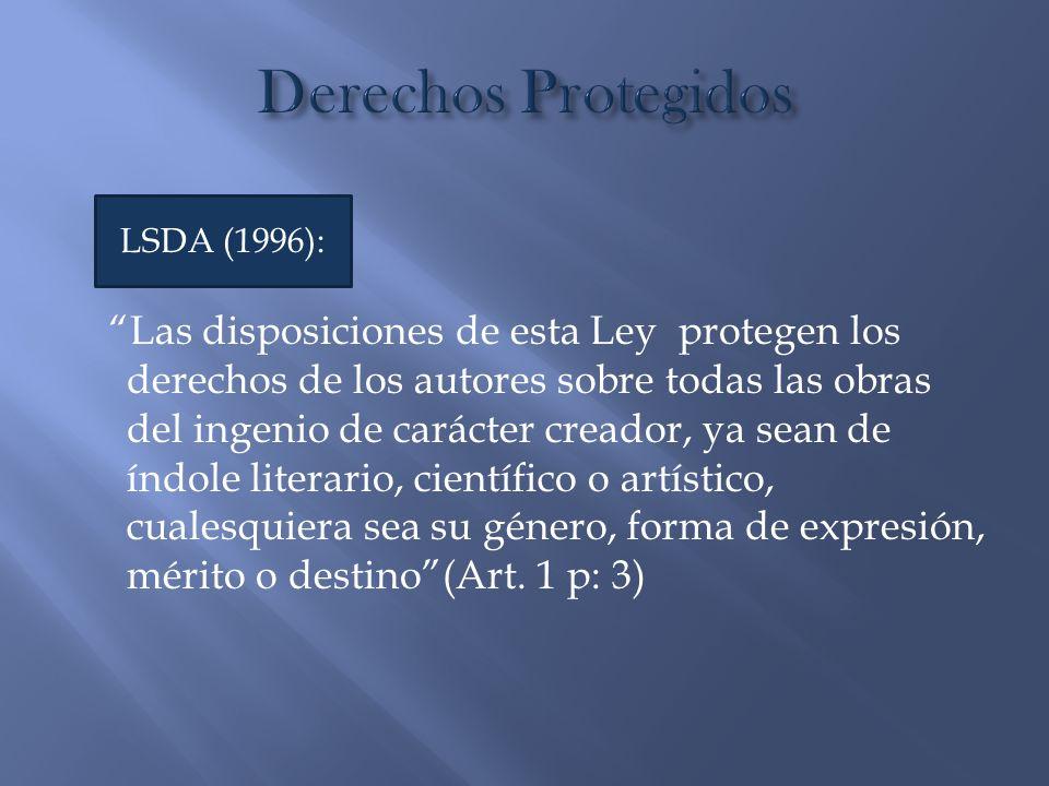 Las disposiciones de esta Ley protegen los derechos de los autores sobre todas las obras del ingenio de carácter creador, ya sean de índole literario,