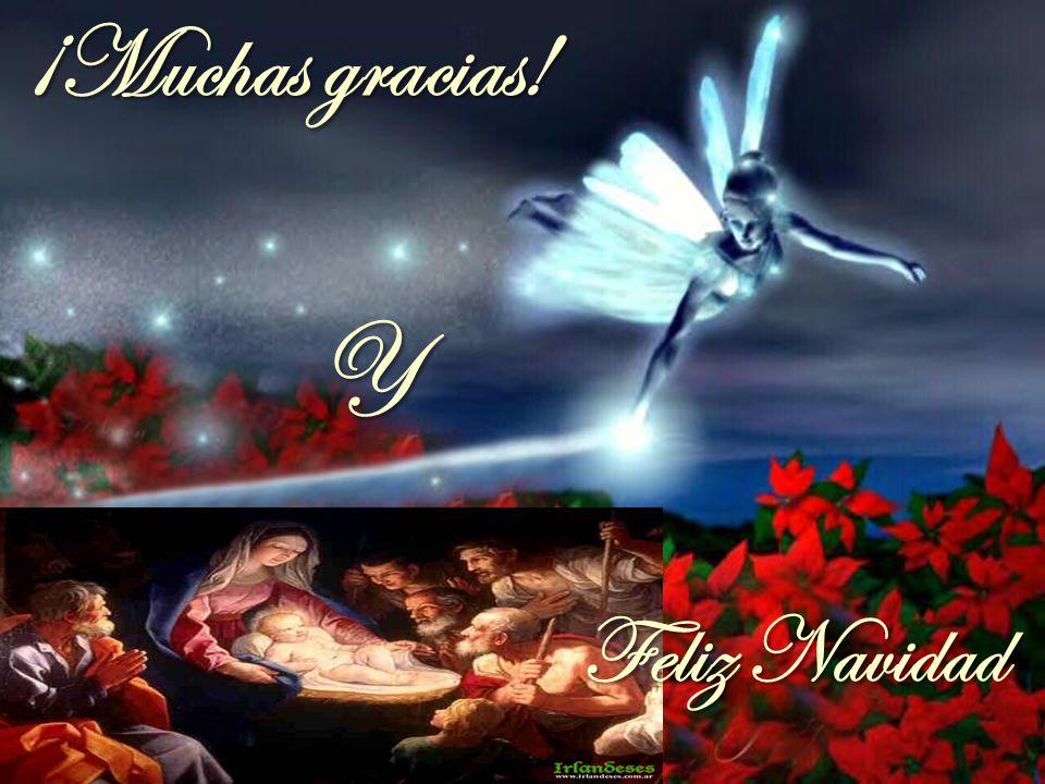 ¡Muchas gracias! Y Feliz Navidad