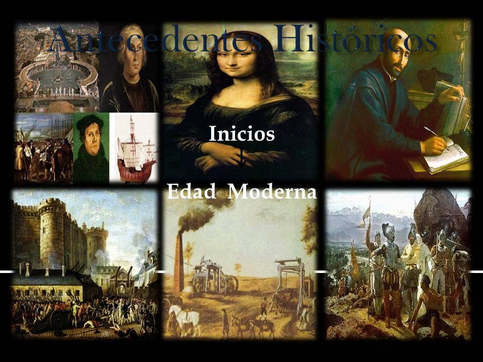 Inicios Edad Moderna