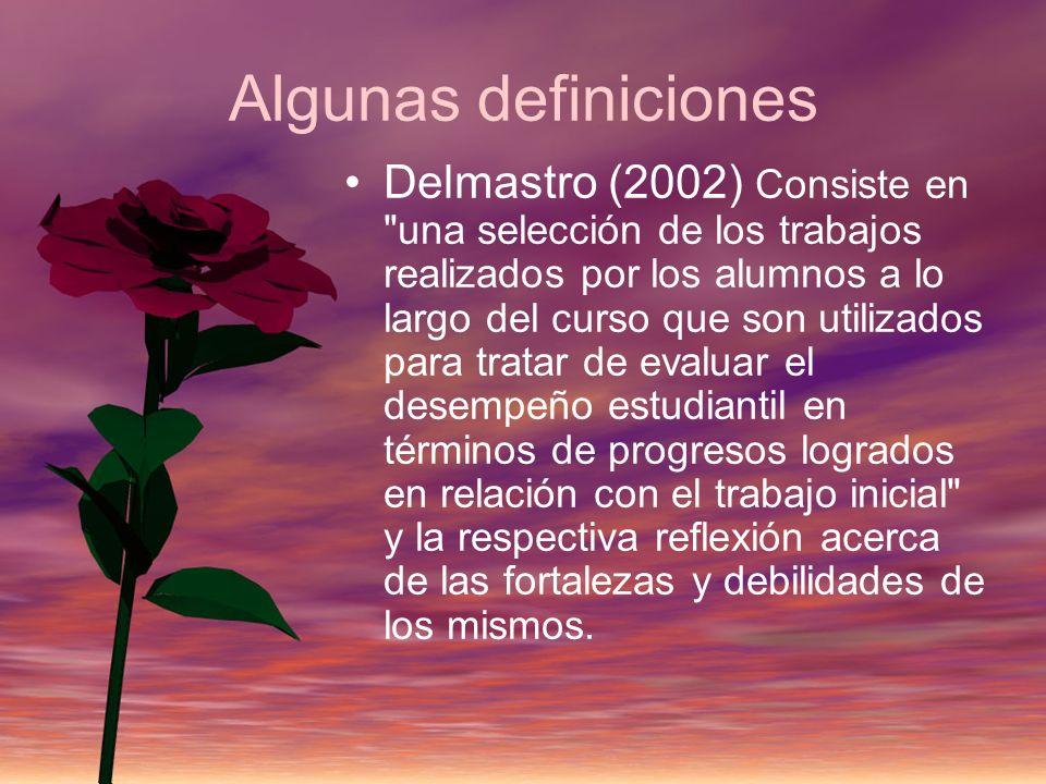 Algunas definiciones Delmastro (2002) Consiste en