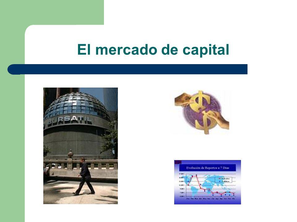 El mercado de capital