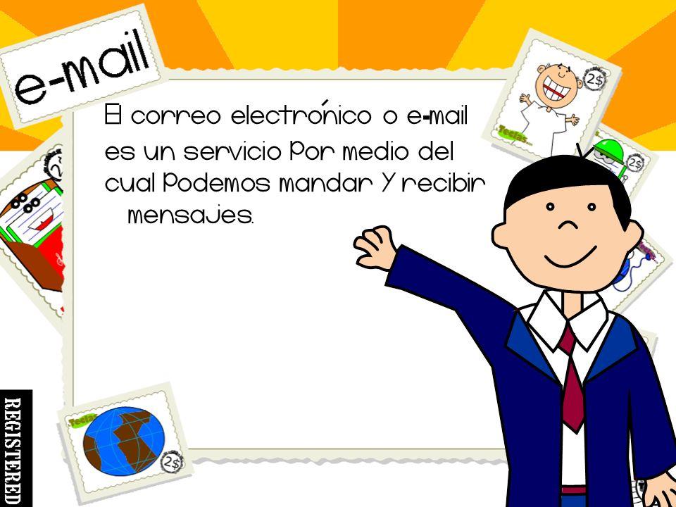 Hola amigos soy el Sr. Ram Y los invito a conocer un poco mas sobre el correo electronico o e - mail.