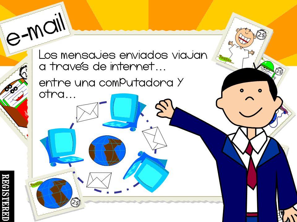 El correo electronico o e - mail es un servicio por medio del cual podemos mandar y recibir mensajes.
