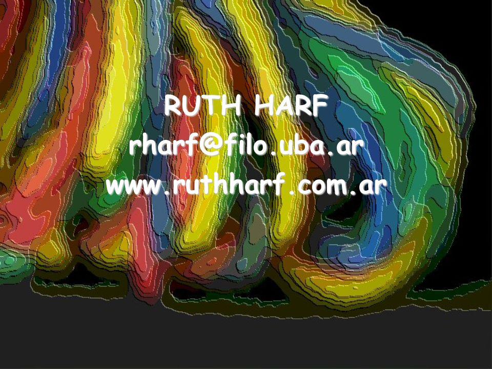 RUTH HARF rharf@filo.uba.arwww.ruthharf.com.ar