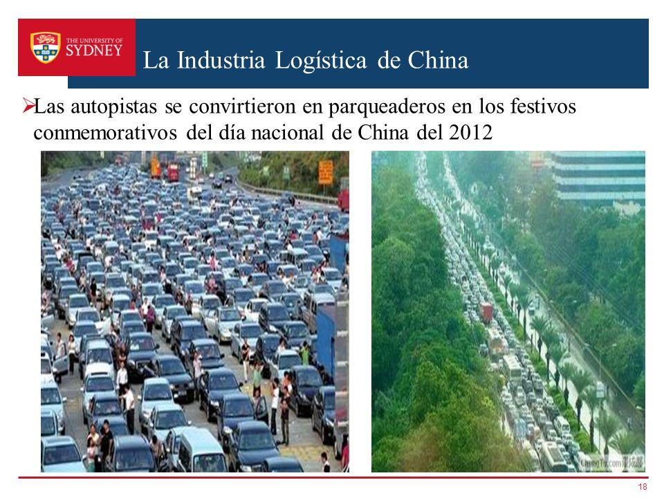 La Industria Logística de China Las autopistas se convirtieron en parqueaderos en los festivos conmemorativos del día nacional de China del 2012 18