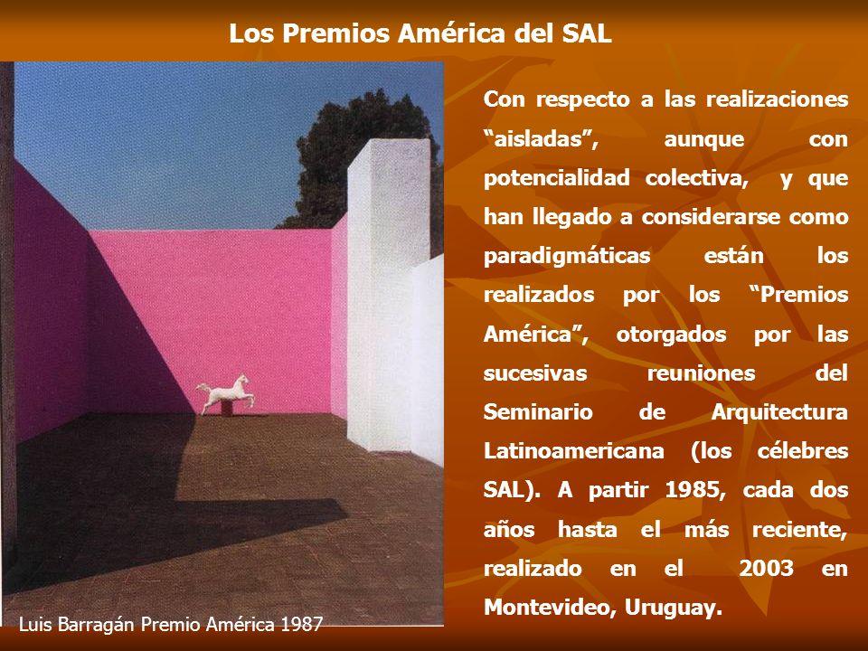 El pensamiento de los SAL* 3.-Construcción de la ciudad latinoamericana desde las necesidades de la sociedad de masas.