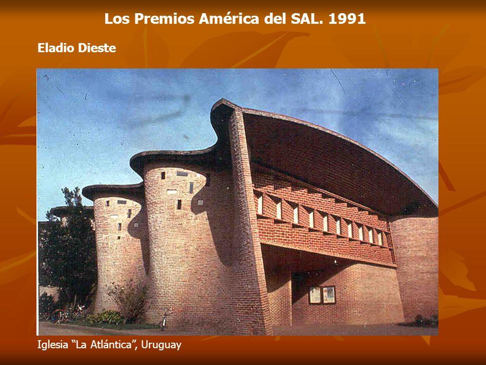 Eladio Dieste Los Premios América del SAL. 1991 Iglesia La Atlántica, Uruguay