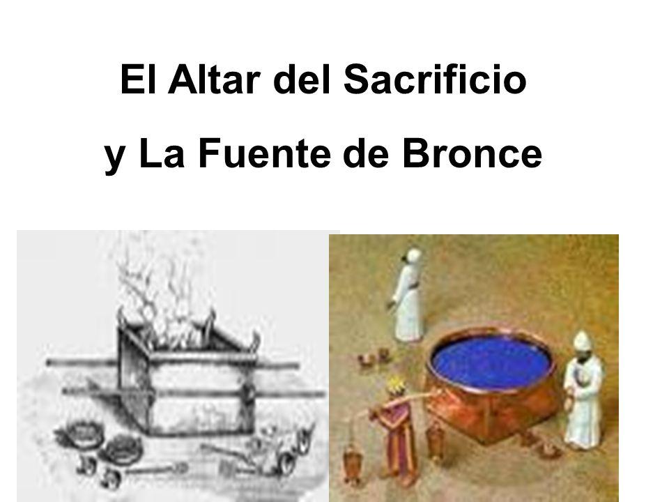 El Altar del Sacrificio y La Fuente de Bronce