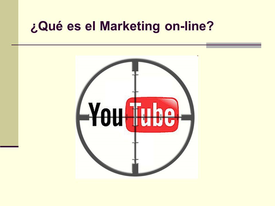 ¿Qué es el Marketing on-line?