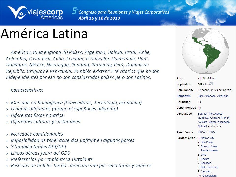 América Latina América Latina engloba 20 Países: Argentina, Bolivia, Brasil, Chile, Colombia, Costa Rica, Cuba, Ecuador, El Salvador, Guatemala, Haití